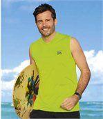 Set van 3 'Beach Surf' tanktops preview4