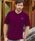 Sada 3 žerzejových triček s výstřihem do V preview2