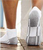 Sada 4 párů sportovních kotníkových ponožek preview2