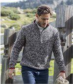 Melierter Pullover Sportswear preview1