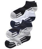 Le Lot de 4 Paires de Mini Chaussettes Sport preview1