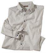 Proužkovaná popelínová košile preview2
