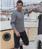 Tričko v námorníckom štýle