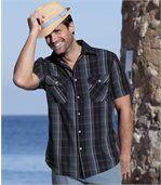 Kockovaná košeľa Ibiza