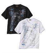 Sada 2 triček Voyage s potiskem preview1