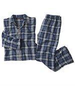 Flanelovékockované pyžamo preview2