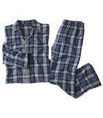 Flanelowa piżama w kratę preview2