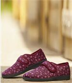 Extra flísové dámske papuče