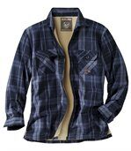 Wierzchnia koszula podszyta kożuszkiem sherpa preview2