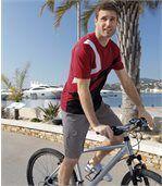 Men's Grey Microfibre Summer Shorts