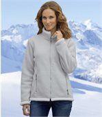 Fleecová bunda spodšívkou zumělé kožešiny preview1