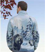 Flísová bunda Medveď preview2