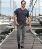 Men's Grey Stretch Jeans preview2