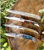 Messer mit integriertem Korkenzieher preview1