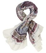 Women's Multicoloured Aztec Printed Scarf