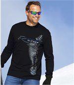 Súprava 2 tričiek Winter Sport s potlačou preview2