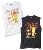 Set van 2 T-shirts 'Malibu Surfi ng' preview1