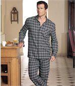 Klassischer Flanell-Pyjama preview1