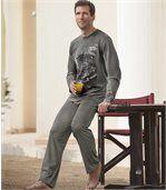 Pyjama mit Adlermotiv preview2