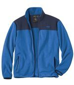 Men's Blue Fleece Zip-Up Jacket  preview2