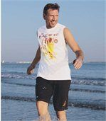 Set van 2 T-shirts 'Malibu Surfi ng' preview2