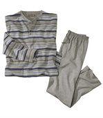 Pohodlné dlhé pyžamo preview2