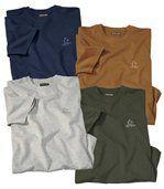 Sada 4 triček Essential preview1