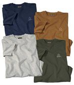 Zestaw 4 T-Shirtów Essential preview1