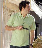 Sada 2 polo triček Palm Club z bavlněného piké preview2