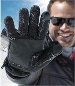 Fleecové rukavice s nepromokavou povrchovou úpravou preview2