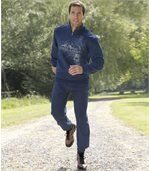 Freizeithose Sport Komfort aus Molton