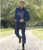 Wygodne sportowe spodnie z moltonu preview2