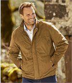 Pikowana kurtka ze sztucznego zamszu Kierunek Western preview2