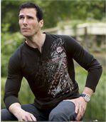 Sada 3 triček s grafickým potiskem a límcem na knoflíky preview4