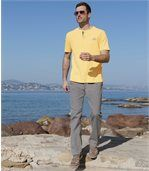 Pack of 2 Pairs of Men's Relaxed Jeans - Grey Blue preview4