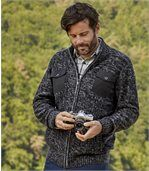 Gilet en Maille Tricot Winter Valley
