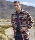 Kostkovaná flanelová košile Puerto Madryn preview1