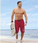 Bermuda de Bain Homme Rose Surf Sport preview1