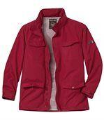 Men's Red Multi-Pocket Windbreaker preview1