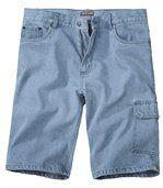 Bermuda Jeans Bleach preview1