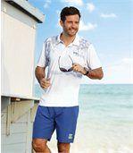Lot de 2 Shorts Homme - Noir Bleu - Summer Sport preview3