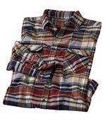Kostkovaná flanelová košile Puerto Madryn preview2