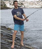 Set van 2 sportieve Sea Fishing T-shirts preview3