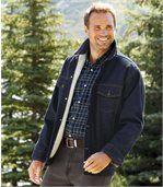Kurtka jeansowa podszyta kożuszkiem sherpa preview5