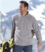 2er-Pack Poloshirts aus Microfleece preview3