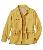 Women's Yellow Sunshine Safari Jacket