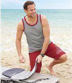 Badeshort Surf Sport im Stil einer Bermuda preview2