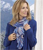 Lichte sjaal in een oase van blauw preview1