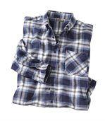 Štýlová flanelová košeľa preview1