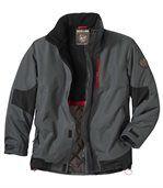 Men's Grey All-Terrain Parka Coat preview2